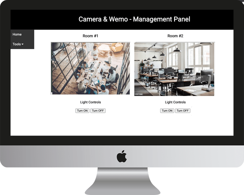 Camera & Wemo Management Software